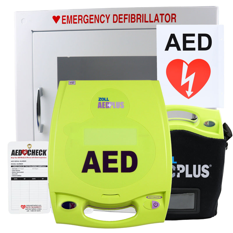 Zoll AED Plus Recertified Value Package