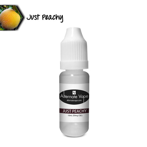 Alternate Vape Flavored CBD Vape Oil | Just Peachy (50mg)