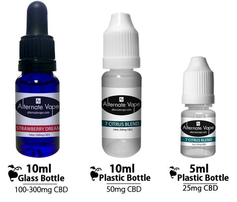 Alternate Vape Flavored CBD Vape Oil | Black & Blue (50mg)