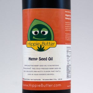 Hippie Butter – Organic Hemp Seed Cooking Oil 16oz