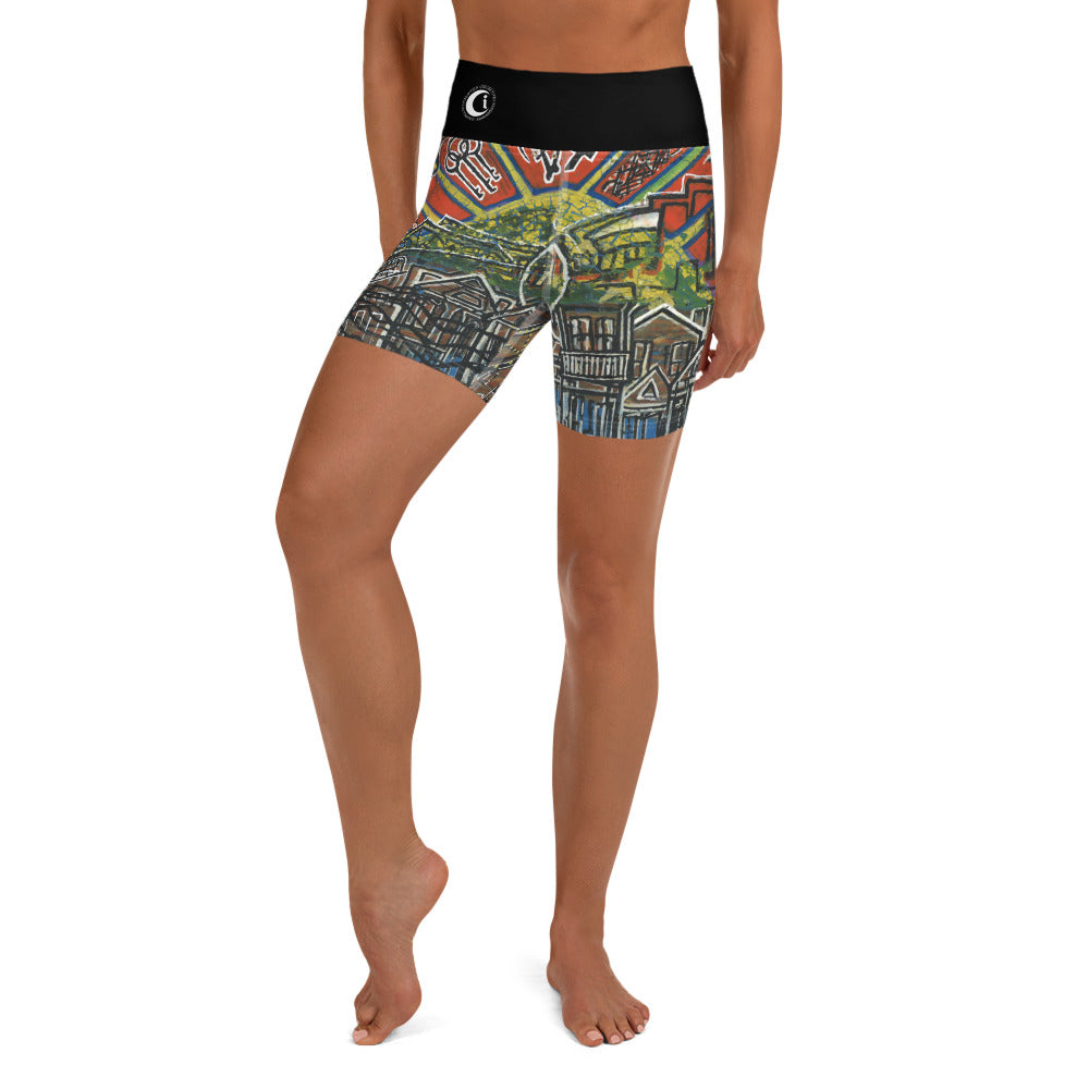 B'Low C Level : Women's Yoga Shorts