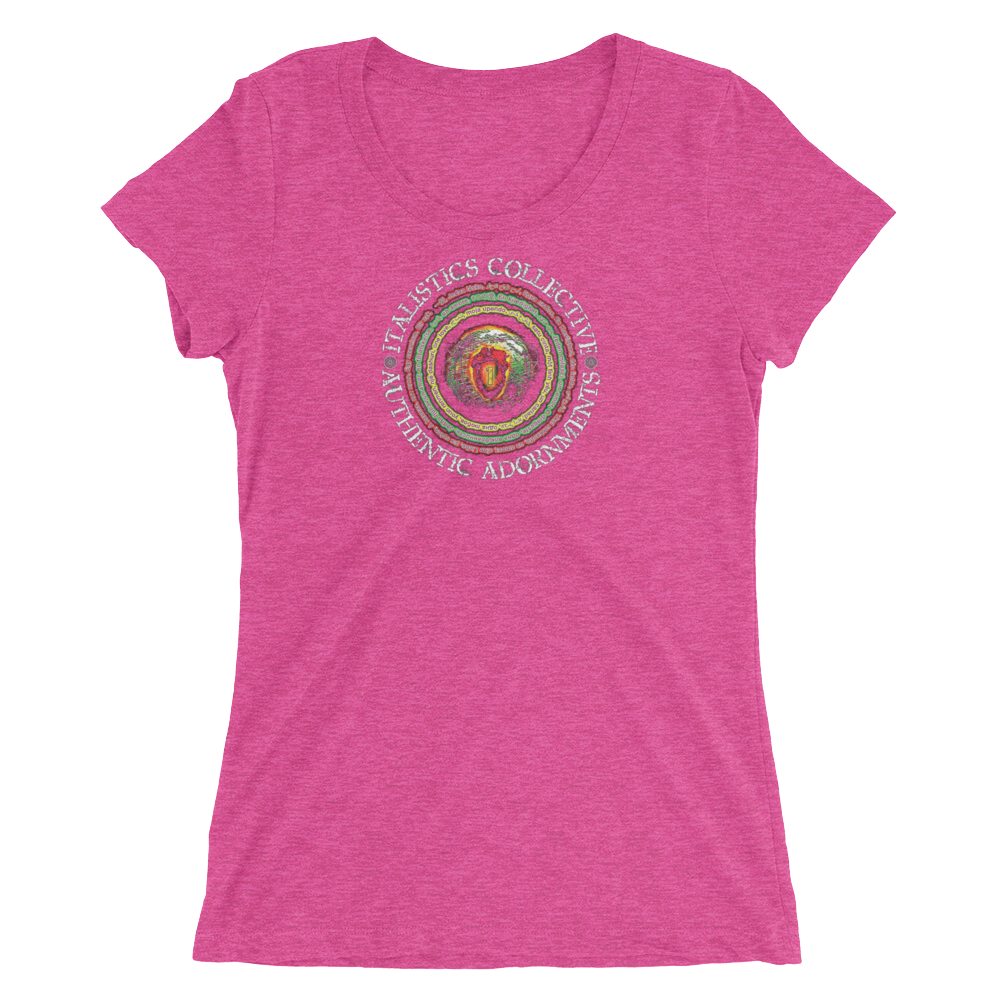 One Love Brand • Ladies' Short Sleeve T-Shirt (form fitting)