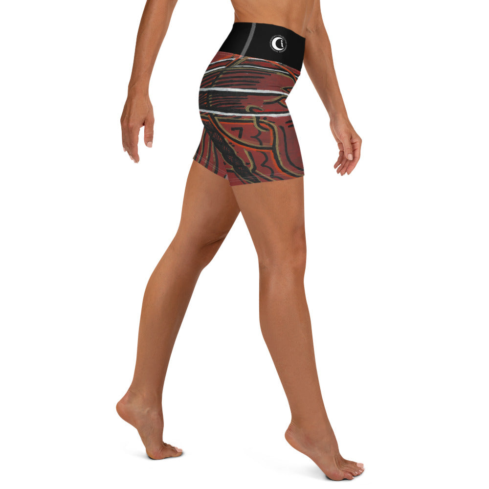 Shim Harmony : Women's Yoga Shorts