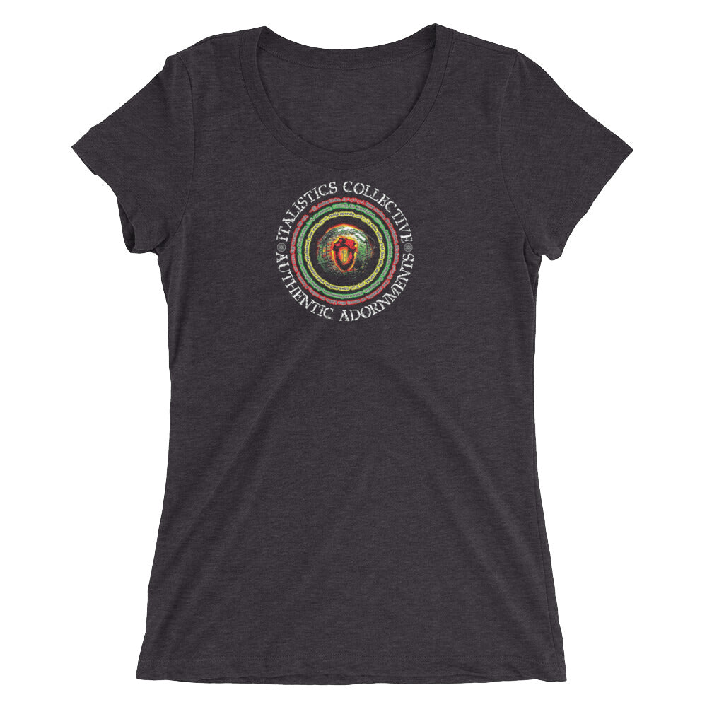 One Love Brand • I.C. Ladies Short Sleeve TriBlend t-shirt