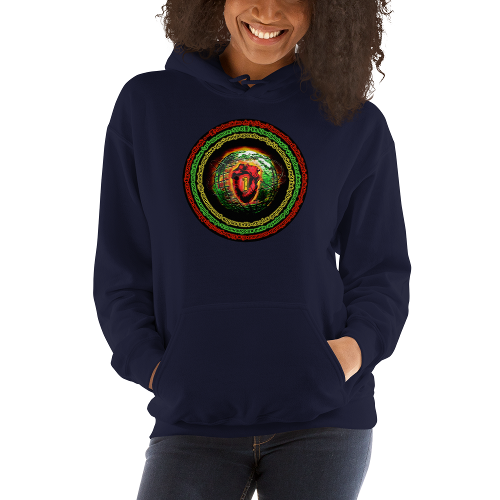 Italistics Collectives' 'One Love' ( R.G.G.edition) : Hooded Sweatshirt