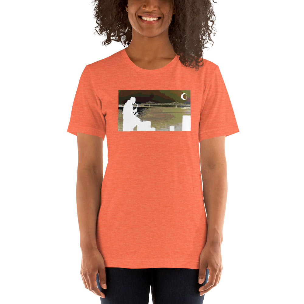 i.c. - blow your horn : Short-Sleeve Unisex T-Shirt