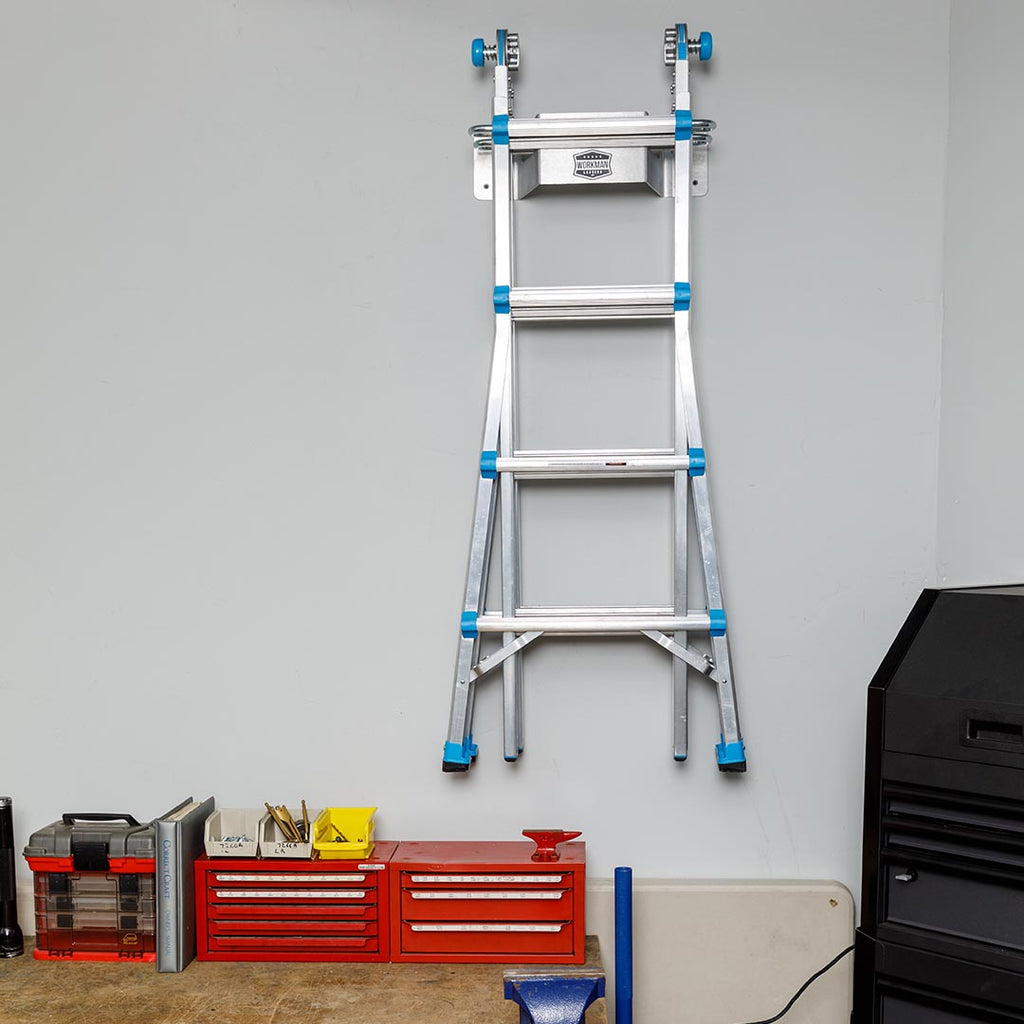 do hanging in a garage from hang the s ceiling wilker ladder