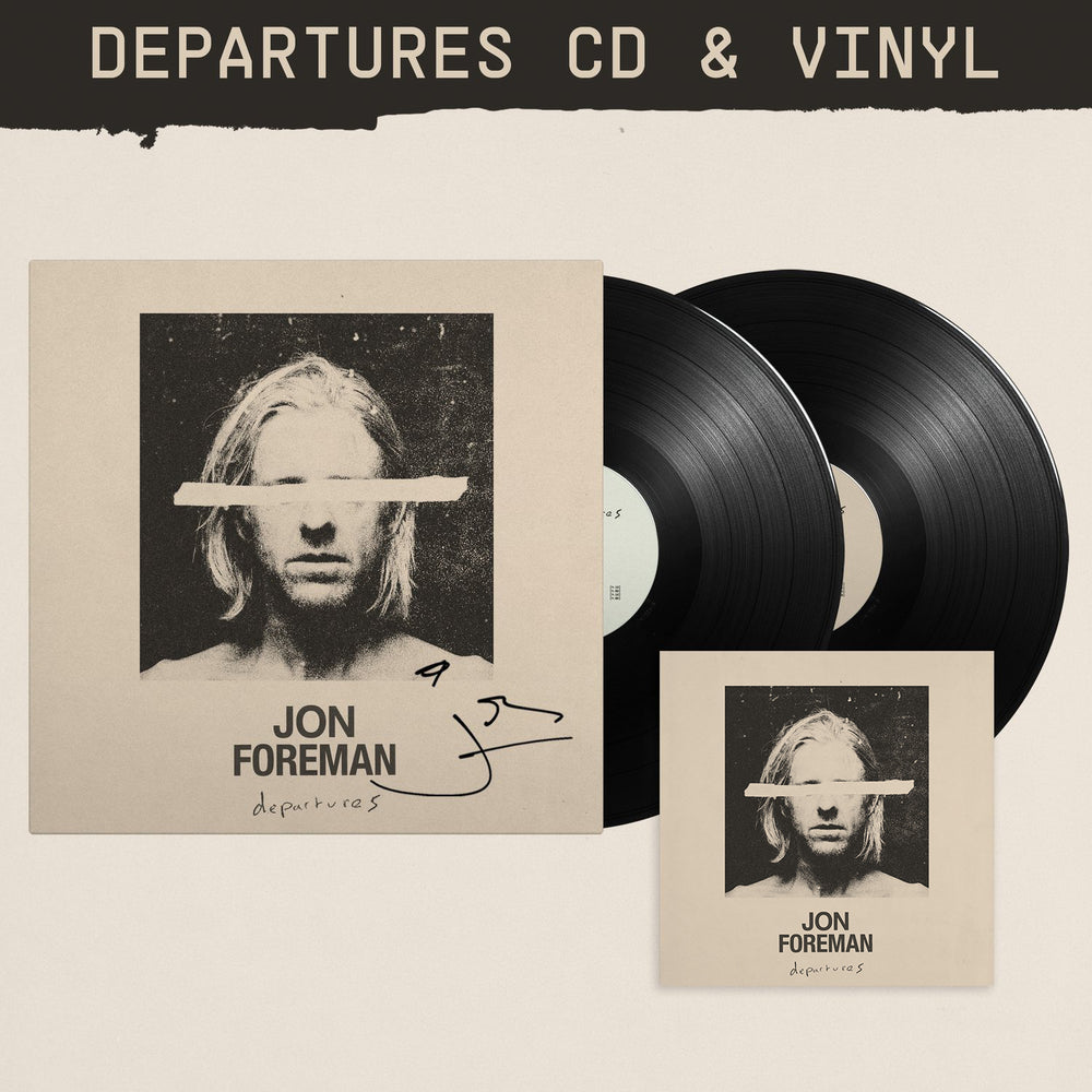 Departures CD & Vinyl Bundle