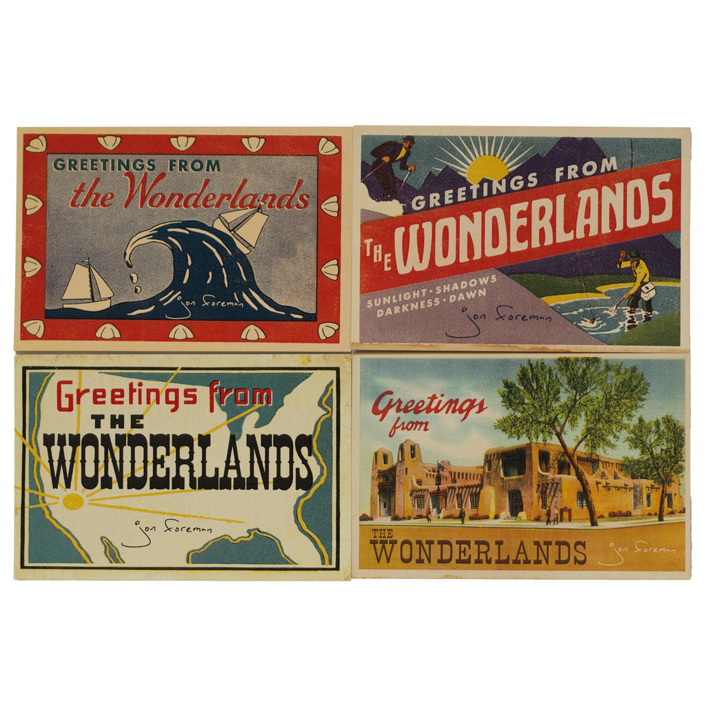 The Wonderlands Postcard Set