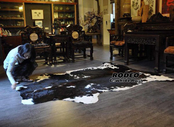 How to Repair a Cowhide Rug!