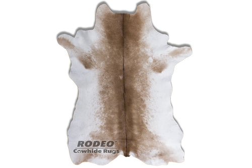 Brown Belt Rodeo Hair on Calfskin - Rodeo Cowhide Rugs