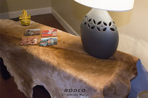 Brown Calfskin - Rodeo Cowhide Rugs