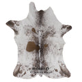 Salt and Pepper Calfskin - Rodeo Cowhide Rugs