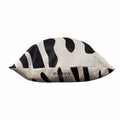 Black and White Zebra Print Cowhide Pillow Case 3 Piece Value Set