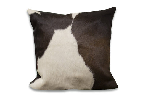 Dark Espresso Cowhide Rug Large Pillow Case - Rodeo Cowhide Rugs