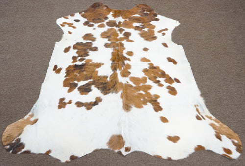 Brazilian Speckled Brown Rodeo Cowhide rug 5.11x 6 ft --2759 - Rodeo Cowhide Rugs