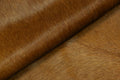Brazilian Solid Brown Cowhide rug 6.9x 5.9 ft -2878 - Rodeo Cowhide Rugs