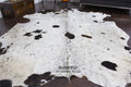 Dirty Snow Cowhide Rug - Rodeo Cowhide Rugs