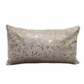 Gold Acid Wash Cowhide Pillow Case - Rodeo Cowhide Rugs