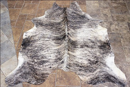 Hilason Hair-On Leather Pure Brazilian Cowhide Skin Rug Carpet Exotic Light - Rodeo Cowhide Rugs