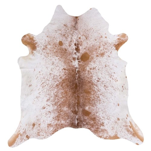 Brown Salt and Pepper Cowhide Rug - Rodeo Cowhide Rugs