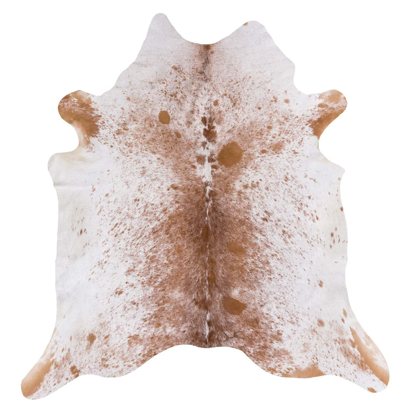 Brown Salt and Pepper Cowhide Rug