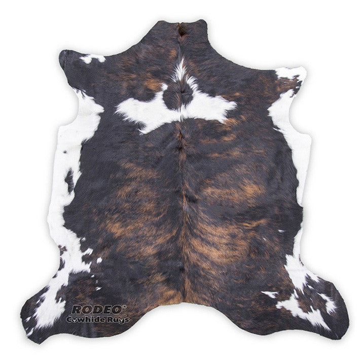 Maple Cream Brindle Cowhide Rug - Rodeo Cowhide Rugs