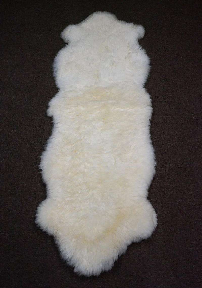 Australia Sheepskin Fur [Size: 5'9 x 2 ft] - CS301 - Rodeo Cowhide Rugs