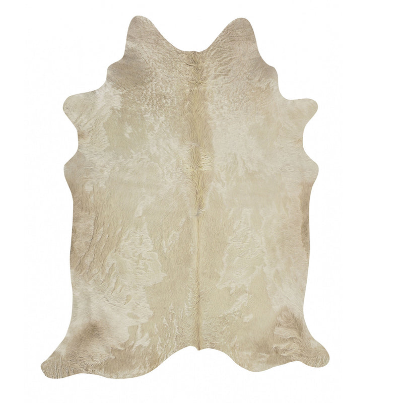 Light Champagne Cowhide Rug - Rodeo Cowhide Rugs