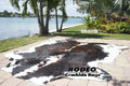 Dark Chocolate Rodeo Cowhide Rug - Rodeo Cowhide Rugs