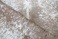 Large Brazilian Palomino salt and pepper Cowhide rug 6.2x 5.11 ft -3181 - Rodeo Cowhide Rugs