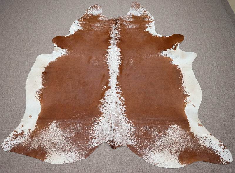 Extra Exotic Cowhide rug 7.7 x 6.9ft -3251 - Rodeo Cowhide Rugs