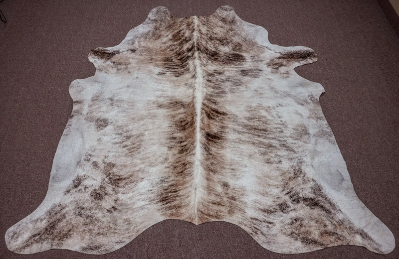 Extra Large Exotic Cowhide rug 6.7 x 6.10ft -3320 - Rodeo Cowhide Rugs