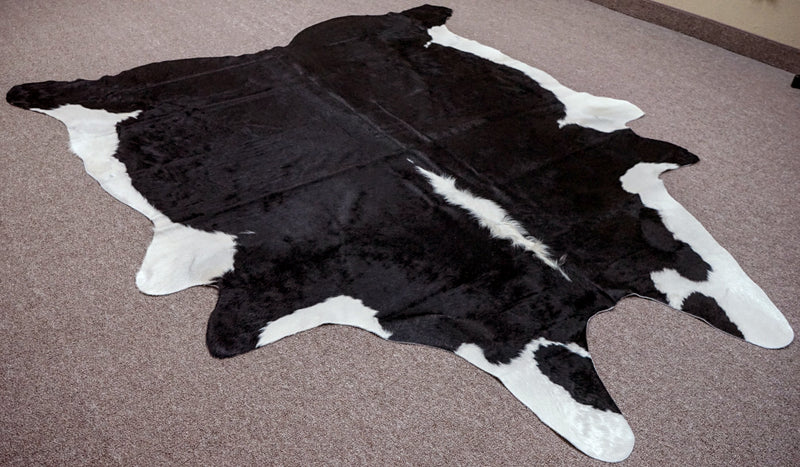 Extra Large Exotic Cowhide rug 7.7 x 6.8ft -3350 - Rodeo Cowhide Rugs