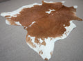 Extra Large Exotic Cowhide rug 7.10 x 6.7ft -3390 - Rodeo Cowhide Rugs