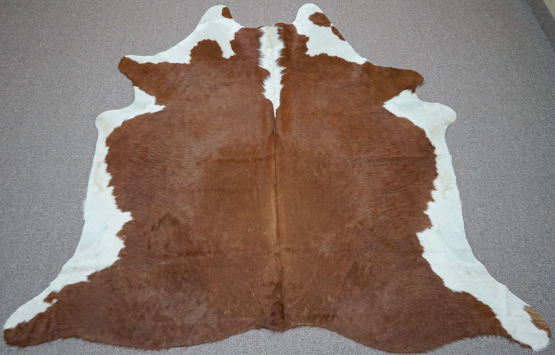 Extra Large Brazilian Exotic Cowhide rug 6.8 x 6.8ft -3521 - Rodeo Cowhide Rugs