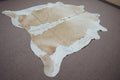 Extra Large Brazilian rustic exotic Cowhide rug 7.4 X 7ft -3689