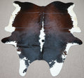 Extra Large Brazilian longhorn exotic Cowhide rug 7.9 X 6.5ft -3696