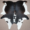 Extra Large Brazilian longhorn exotic Cowhide rug 7.8 X 6.10ft -3698