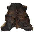 Superior Quality Rodeo Cowhide Rug Dark Brindle - Rodeo Cowhide Rugs