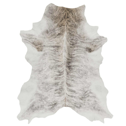 Grey Tan Brindle Calf Skin - Rodeo Cowhide Rugs