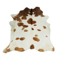 Brown Spots on Cream Cowhide Rug - Rodeo Cowhide Rugs