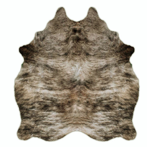 brindle cowhide rug , rodeo eco
