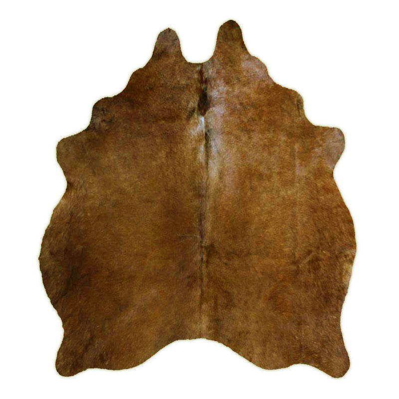 Solid Brown Rodeo Eco Cowhide Rug - Rodeo Cowhide Rugs