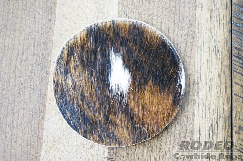 Rodeo Cowhide Coaster Sets