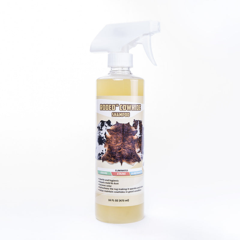 16 fl oz (473ml) Bottle that contains a powerful solution that keeps your rug clean and beautiful