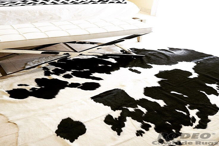 Classic Black and White - Rodeo Cowhide Rugs