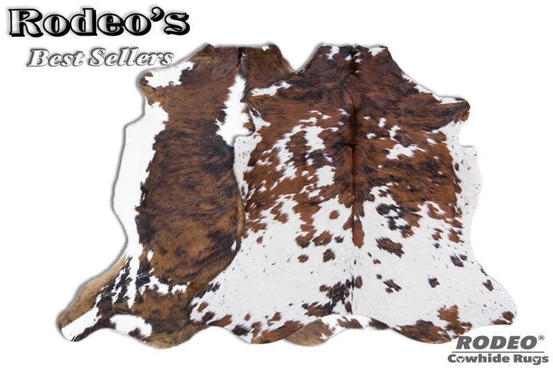 Rodeo Cowhide Rug Value Combo Sets - Rodeo Cowhide Rugs