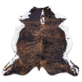 Dark Brindle Cowhide Rug - Rodeo Cowhide Rugs