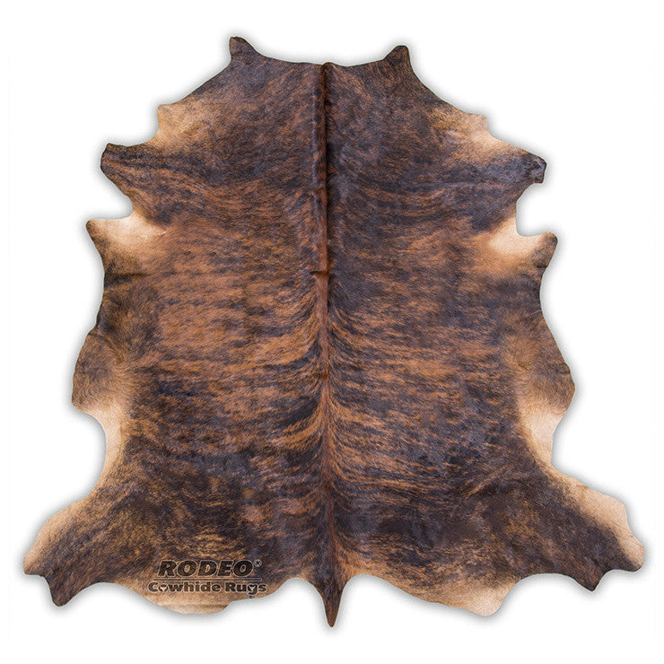 Dark Brindle Cowhide Rug Rodeo Rugs